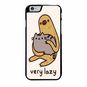 pusheen cat and sloth case for iphone 6 plus 6s plus
