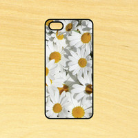Daisies Flowers Phone Case iPhone 4 / 4s / 5 / 5s / 5c /6 / 6s /6+ Apple Samsung Galaxy S3 / S4 / S5 / S6