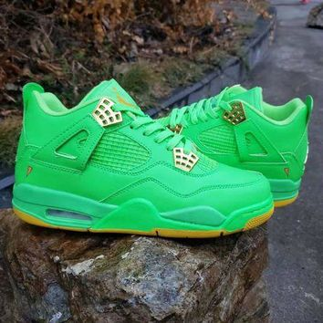 DCCK Air Jordan  4 Retro 'Apple Green'
