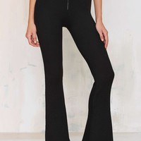 Line & Dot St Martin Ribbed Flare Pants
