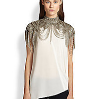 Haute Hippie - Beaded Shoulder/Neck Piece - Saks Fifth Avenue Mobile