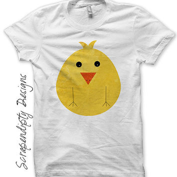 Iron on Chicken Shirt PDF - Farm Iron on Transfer / Kids Farm Birthday Shirt / Custom Toddler Chicken Clothing / Kids Boys Clothing IT260-C