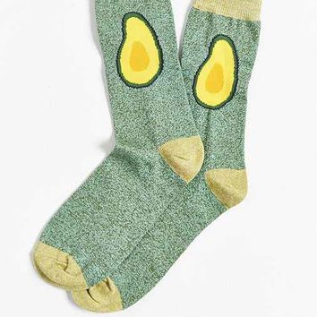Avocado Halves Sock
