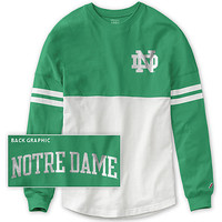 University of Notre Dame Women's Ra Ra Long Sleeve T-Shirt | University Of Notre Dame