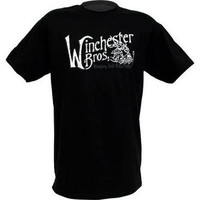 Supernatural Winchester Brothers Adult Black T-Shirt |