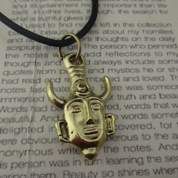 Dean winchester, Supernatural inspired deans amulet pendant necklace - silver/golcen/brass,you can choose