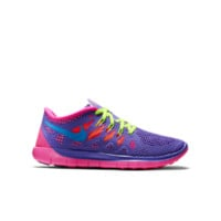Nike Free 5.0  Girls' Running Shoe Size 3.5Y (Purple)