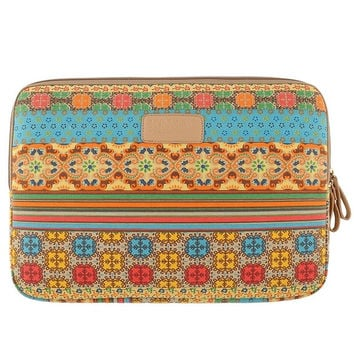 "New Bohemian Style 15"" 15.4"" 15.6"" Sleeve Case Bag Pouch for Laptop PC Notebook"