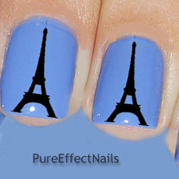 Eiffel Tower Nail Decals