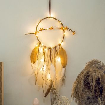 Dreamcatcher Copper String Light