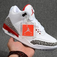 "Air Jordan 3 Retro ""Katrina"" Sneaker Shoe"