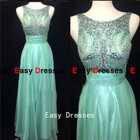 Prom dress princess dress rhinestone dress Fashion dress  Party Prom Evening Dresses 2014