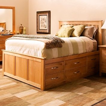 Everitt 4-pc. Queen Platform Bedroom Set w/ Storage Bed