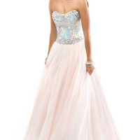 Full Length Strapless Flirt Ball Gown
