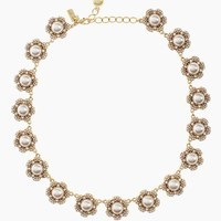park floral collar necklace