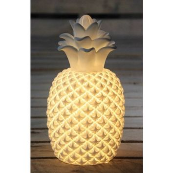 Pineapple Porcelain Lamp