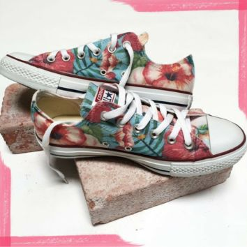Permanent Vacation Converse Low Top