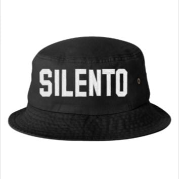 silento Embroidery - Bucket Hat