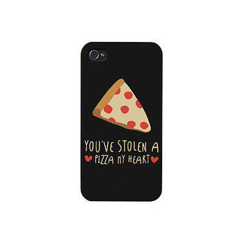 Cute Pizza Love Phone Case - iphone 4 5 5C 6 6+, Galaxy S3 S4 S5, LG G3, HTC M8