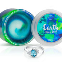 Earth - Body Scrub With a Ring and a Chance to Win a $10k Ring