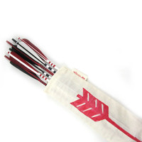 Black Red and White War Arrows by verlaivans on Etsy