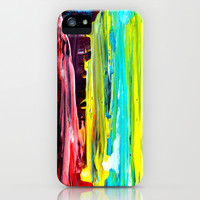 Color Abstract 2 iPhone & iPod Case by Claudia McBain