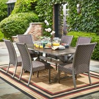 Hampton Bay Carleton Place 7-Piece Patio Dining Set RXHD-43-SET at The Home Depot - Mobile