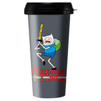 Adventure Time - Finn The Human Travel Mug
