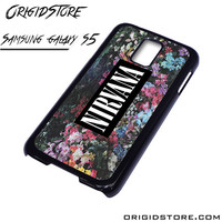Nirvana Floral Flower Case For Samsung Galaxy S5 Case