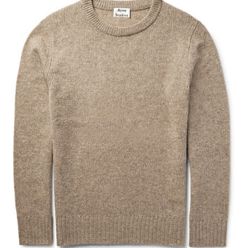 Acne Studios - Jena Mélange Wool-Blend Sweater