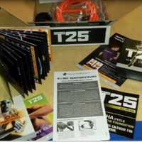 Brand new Beachbody T25 with Resistance Bands