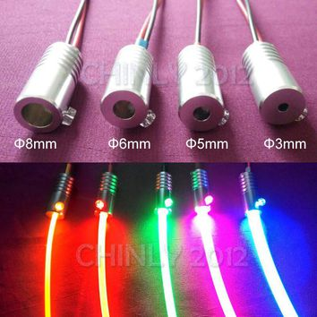 1.5W DC12V car use home use car light car bulb side glow fiber optic light illuminator