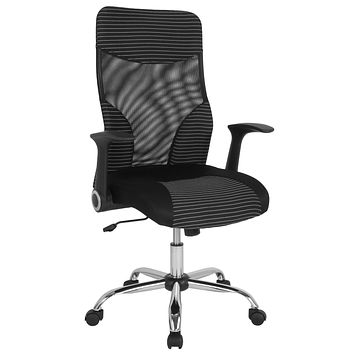 Milford High Back Office Chair with Contemporary Mesh Design