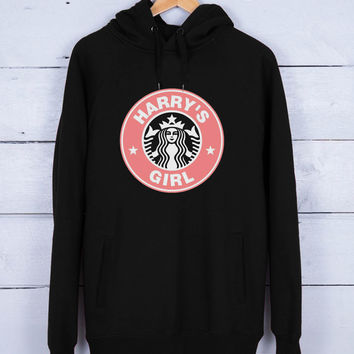 Harry starbucks logo Premium Fleece Hoodie for Men and Women Unisex Adults