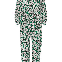 Stella McCartney - Monia floral-print silk-crepe jumpsuit