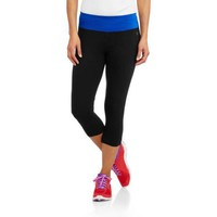 Danskin Now Women's Active Essential Capri - Walmart.com