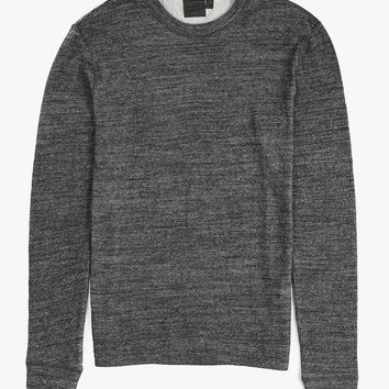 Slim Crew LS Knit Shirt