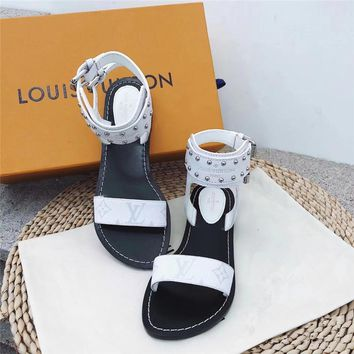 Louis Vuitton Women Flat Bottom Sandal