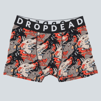Hot Dogs Boxer Shorts