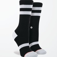 Stance Black Bird Athletic Crew Socks - Womens Scarves - Black - One