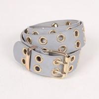 Double Row Eyelet Belt