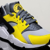 Nike Air Huarache men lifestyle casual sneakers NEW electrolime 318429-305
