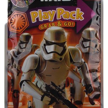 Star Wars Play Pack Stormtroopers Grab Go Set 12 Coloring Book Crayons Stickers