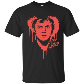 Official Evan Peters  Stay Weird Tshirt