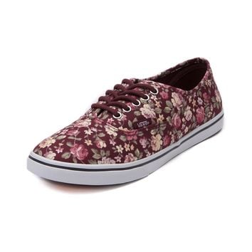 Vans Authentic Lo Pro Floral Skate Shoe