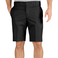 "Dickies - 894 Black Slim Fit 11"" Industrial Work Shorts"
