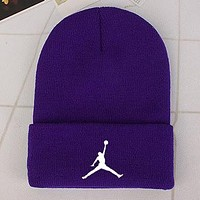 Perfect Jordan Fashion Edgy  Winter Beanies Knit Hat Cap