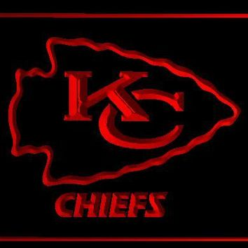 Chiefs Arrowhead Kansas City new beer bar pub club 3d signs led neon light sign vintage home decor crafts