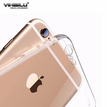 For iPhone Protect Camera Case Transparent Back Cover
