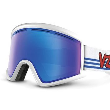 VonZipper - Cleaver White Snow Goggles / Sky Chrome Lenses